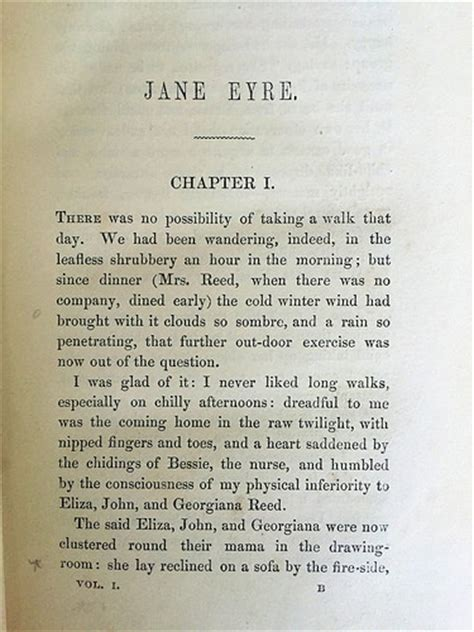 analysis jane eyre chapter 2 jane eyre by charlotte bronte 1847 zsr library