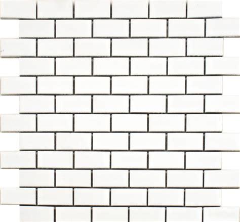 Kitchen Wall Tiles toto gloss white brickbond mosaic tiles kitchen