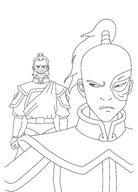 coloring pages avatar characters avatar coloring pages coloringpages1001 com