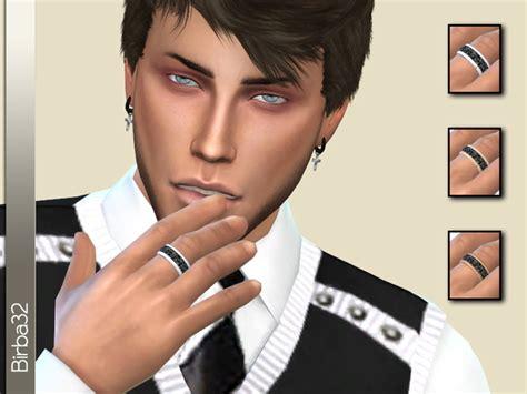 sims 4 mens earrings ring man by birba32 at tsr 187 sims 4 updates