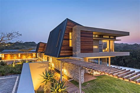 modern comfortable house in south africa albizia house by