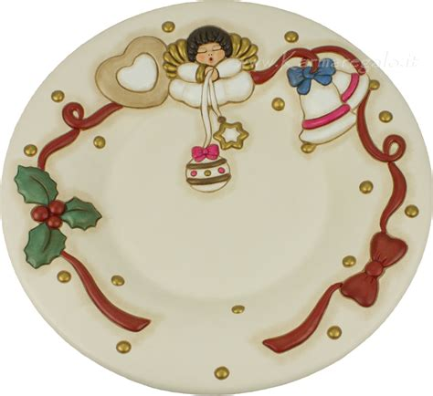 centro tavola thun centrotavola natalizio con angelo thun