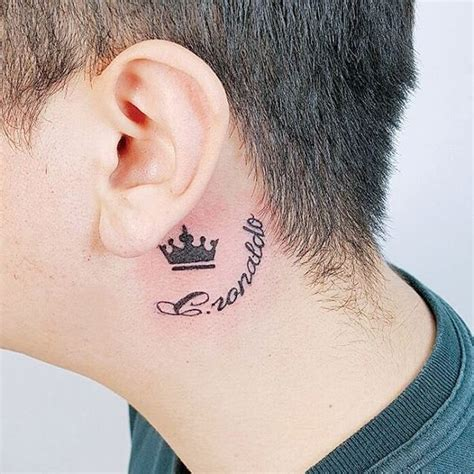 anchor tattoo behind ear meaning behind the ear tattoos for guys tattoo collections