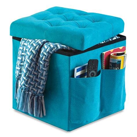 dorm room ottoman foldable storage ottoman dorm essentials pinterest