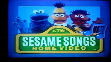 opening to sesame sing hoot howl 1991 vhs