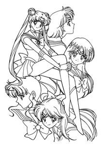sailor moon coloring pages printable coloring pages amp art coloring