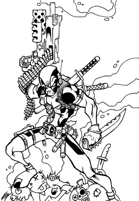 lady deadpool coloring pages lady deadpool coloring pages