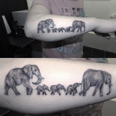 tattoo elephant chain follow and tag inkedmagz to get featured lil elephant