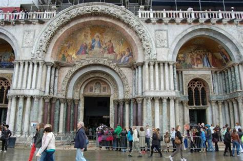 ingresso basilica san marco the view from the floor museum picture of