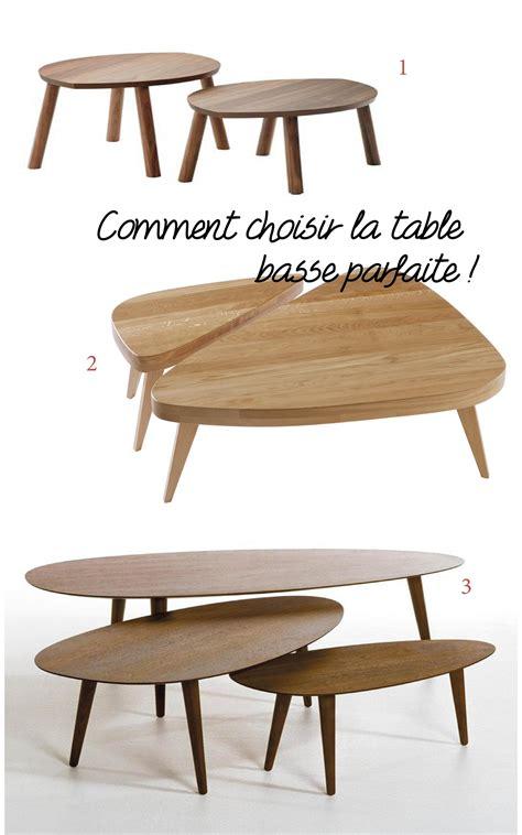 les tables basses choisir une table basse pour le salon