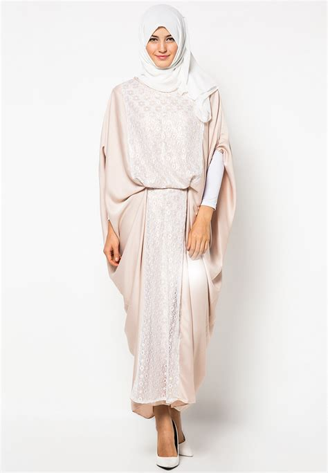 Gamis Simple aneka model baju muslim gamis wanita casual modis dan elegan