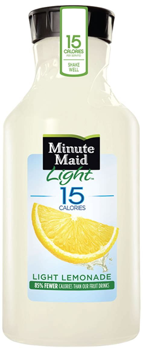 minute maid light lemonade nutrition minute miad light ingredients and nutritional information