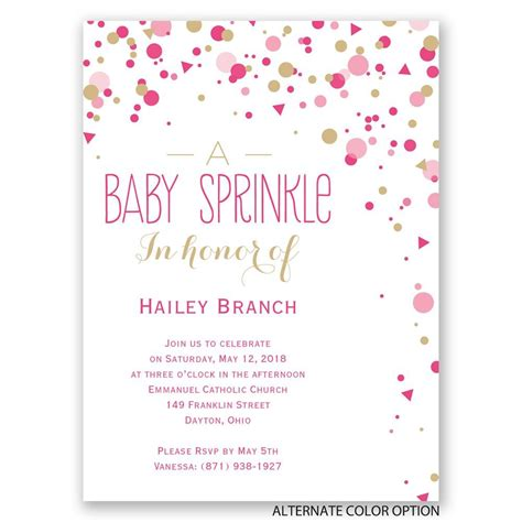 Baby Shower Invitations by Bright Sprinkles Baby Shower Invitation