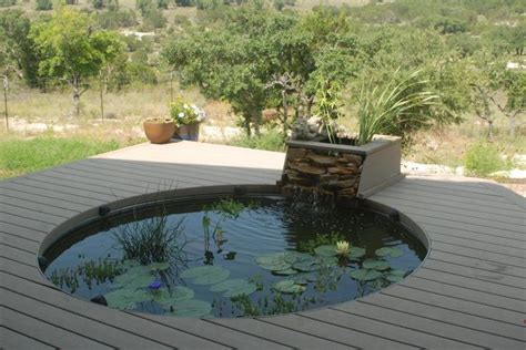 small koi pond design ideas garden design modern small pond round shape with koi fish
