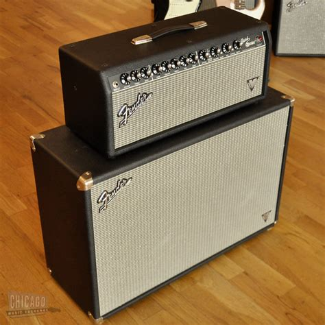 Fender 2x12 Cabinet by Fender Vintage Modified Bandmaster And 2x12 Cabinet