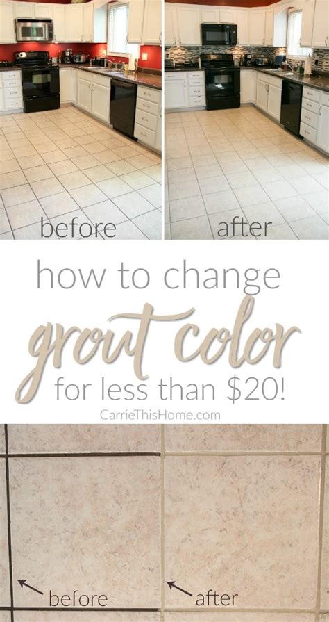 how to color grout how to change grout color for less than 20
