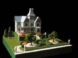 Landscaping Curb Appeal - victorian dollhouses gallery queen anne mansion