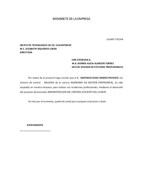 carta de aceptacin de comisario facebookcom carta de aceptacin de comisario facebookcom ejemplo carta
