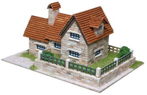 kit in casa kit maqueta piedra casa chalet en kit para contruir