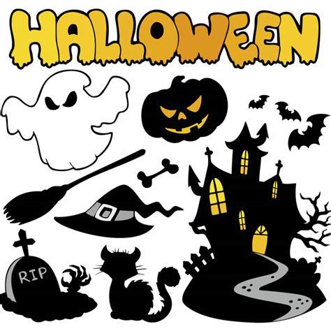 imagenes halloween comicas cartoon halloween elements vector vector graphics blog