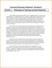Teaching Philosophy Template by Teaching Philosophy Statements Exles 43912203 Png