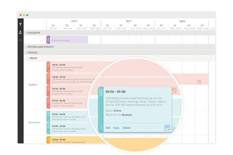 Calendar Software Marketing Calendar Software Tool For Content Marketing Plans