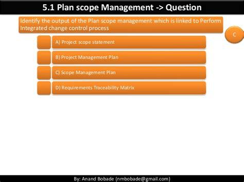 Mba Technology Management Scope by Pmp Chap 5 Project Scope Management Part1