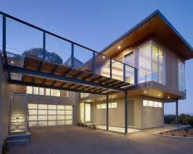 This is an example of a modern exterior in san francisco with wood