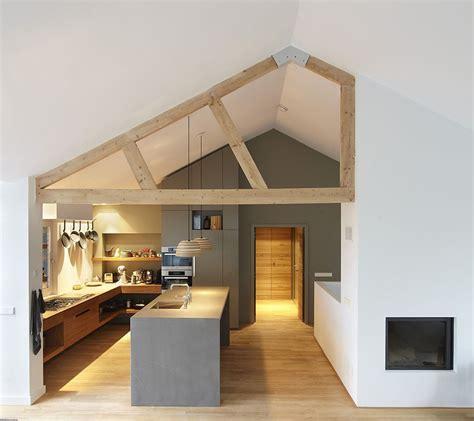verbouwing keuken verbouwing interieurontwerp houten spant haard keuken