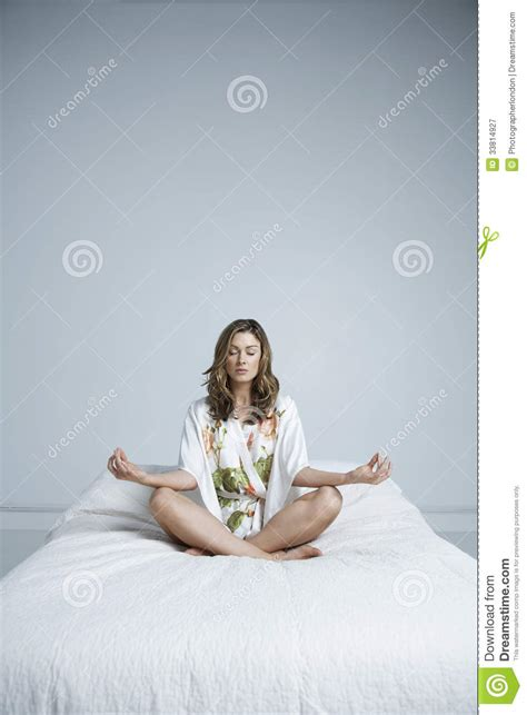 lotus position in bed beautiful woman bathing suit hot girls wallpaper