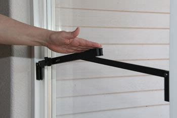 Patio Door Bar Lock 2 Ways To Be Sure Your Patio Door Is Secure