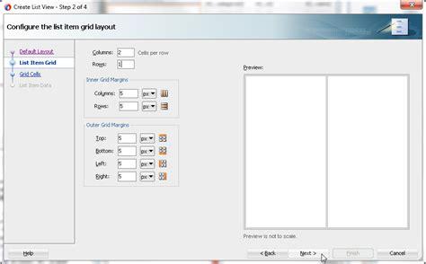 grid layout oracle oracle jdeveloper 12c tutorials 12 1 2 developing user