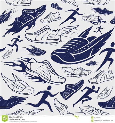 sport pattern background free sport shoes running man background seamles pattern