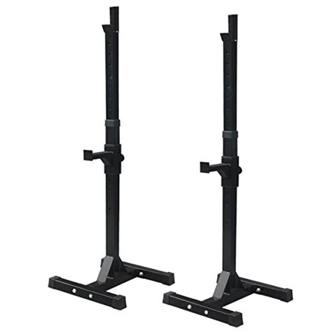 bench press racks f2c pair of adjustable rack sturdy steel squat barbell