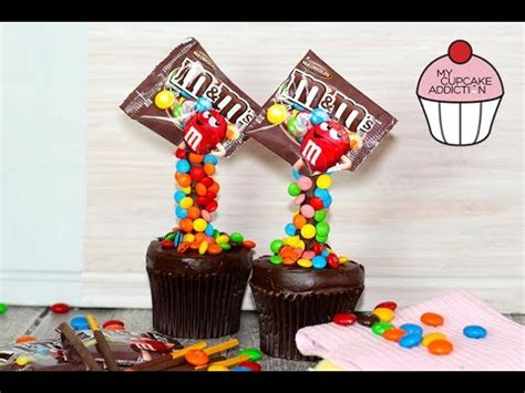My M Ms Glass Bowl m m s illusion cupcakes gravity defying cupcakes with my