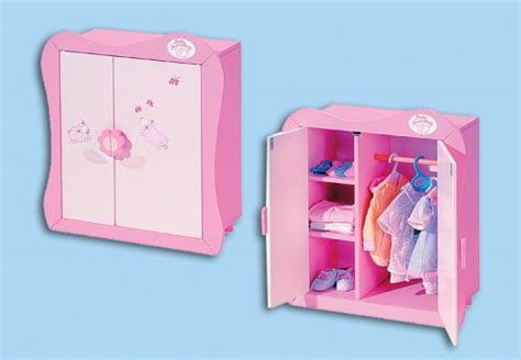 Wardrobe For Baby by Baby Annabell Wardrobes