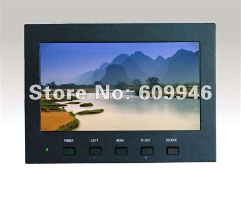 Monitor Untuk Cctv 7 Inch Kasus Logam Tft Lcd Memantau Untuk Cctv Dengan Layar Sentuh Industri Lcd Monitor