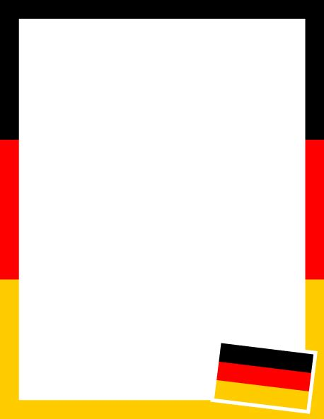 german cards templates printable german flag border use the border in microsoft