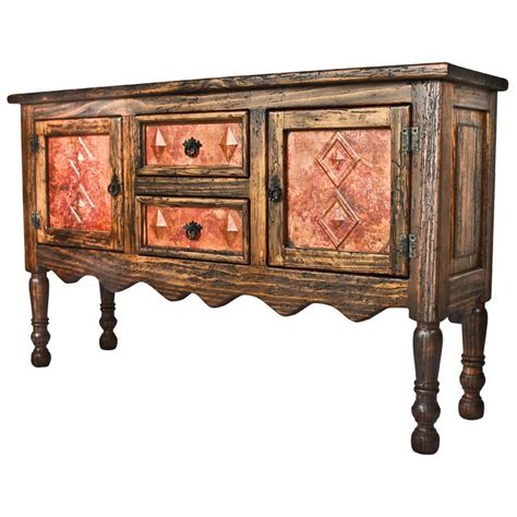 console table with drawers and doors antique pine copper veronica console tablew copper