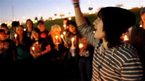 mitch lucker candle light vigil las vegas youtube