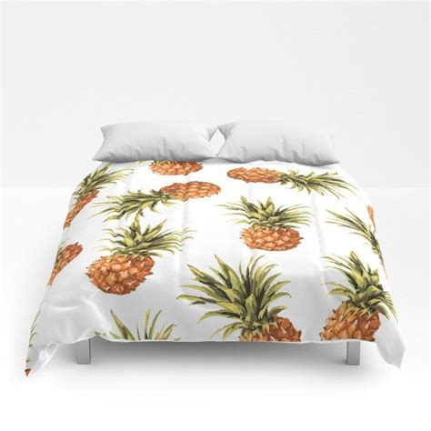 pineapple bed set best 20 queen size comforters ideas on pinterest