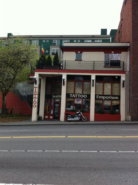 seattle tattoo emporium on a busy yelp