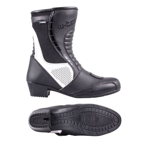 comfortable biker boots women s leather motorcycle boots w tec beckie w 5036