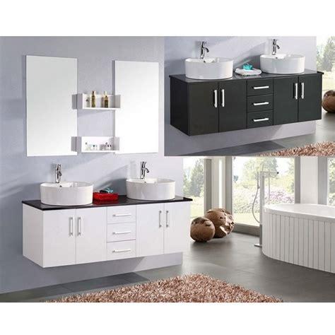 mobile bagno laccato bianco mobile da bagno diana 150 cm doppio lavabo bianco e