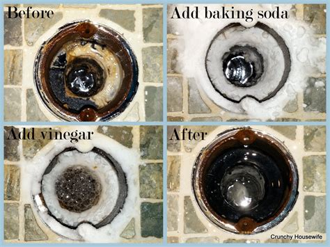 Cleaning Shower Drain by Diy Drain Cleaner Grease Crunchy