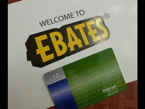 How To Get Cash From A Gift Card - how to get cash back online ebates and a 10 gift card youtube
