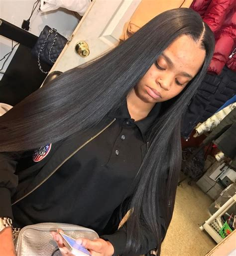 full sew in with middle part 1947 best images about ғleeĸ on pinterest peruvian hair