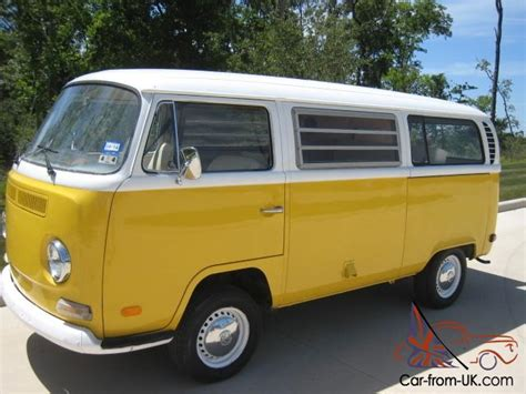 new volkswagen bus yellow image gallery 1971 volkswagen vanagon