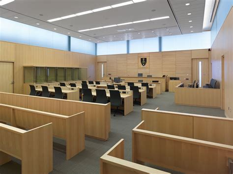 canadian court room opening the doors on a new courthouse in thunder bay construction canada
