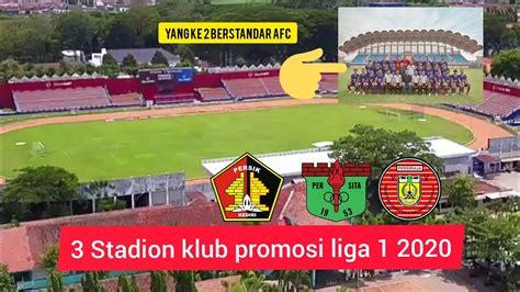 stadion klub  promosi  liga